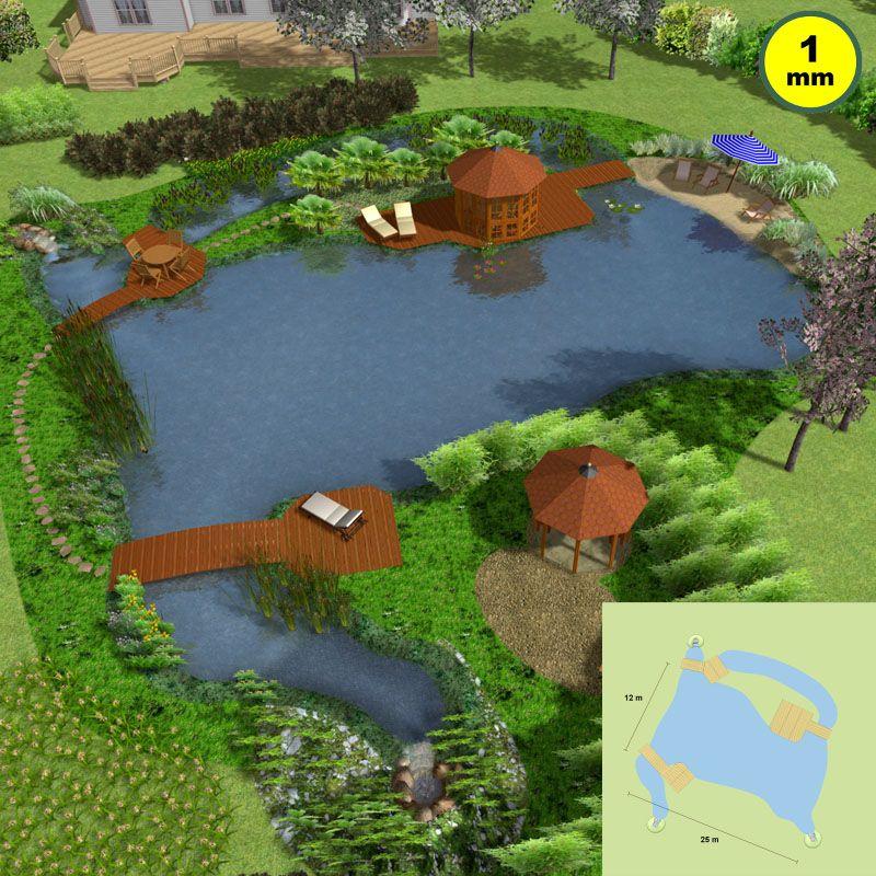 Naturagart shop gro er schwimmteich set 2 online kaufen for Gartenteich onlineshop