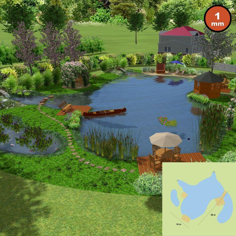 Teichfolie Blau 1 mm 2 x 8 m 6,99€//m² Gartenteich Schwimmteich Badeteich