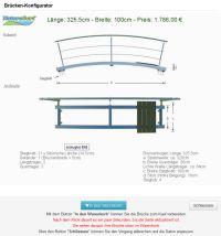 naturagart shop konfigurator br cken stege teiche online kaufen. Black Bedroom Furniture Sets. Home Design Ideas
