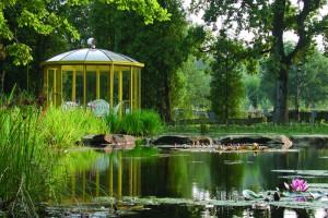 Gartenteich im NaturaGart Park Ibbenbüren