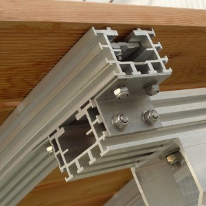 Aluminiumkonstruktion für Teichstege und Teichbrücken