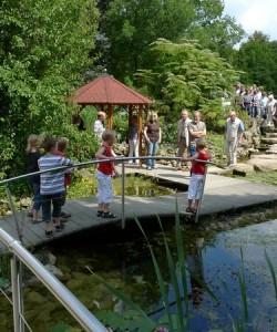 Besuch im NaturaGart Park in Ibbenbüren