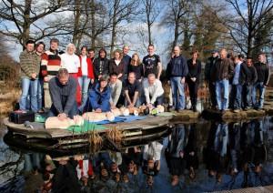Ersthelfer Kurs im NaturaGart Tauchpark