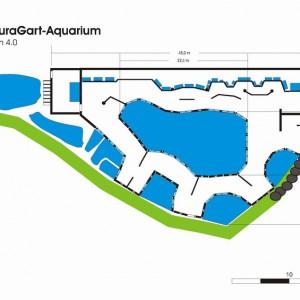 NaturaGart Aquarium Grundriss