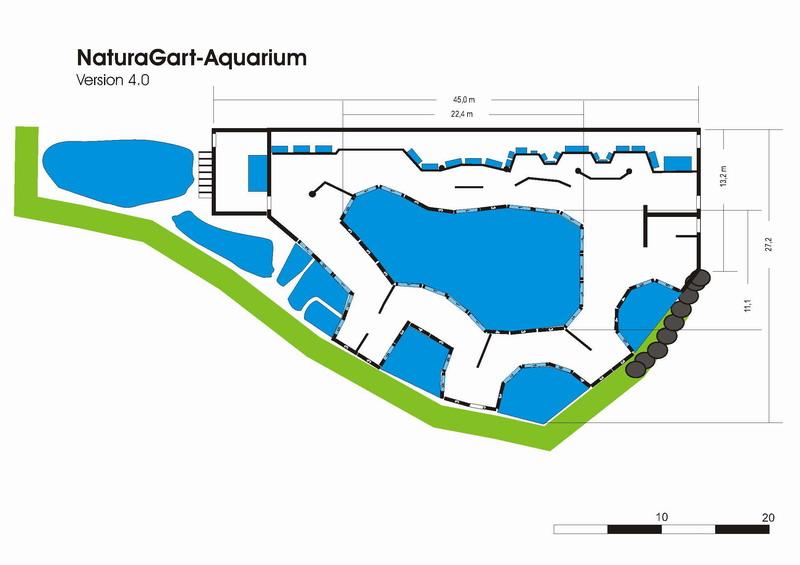 Neue baustelle gartenteich aquarium naturagart park aktuell for Gartenteich aquarium