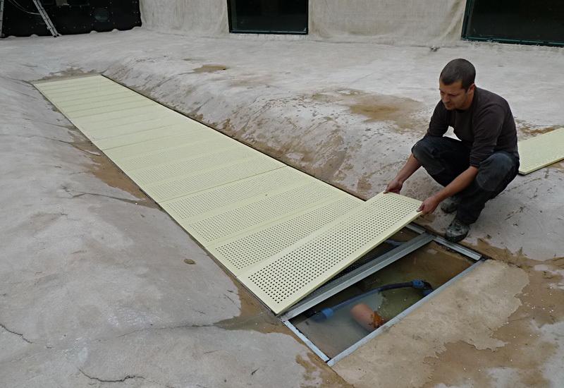 die sediment falle eine innovation von naturagart gartenteich produkte. Black Bedroom Furniture Sets. Home Design Ideas