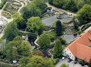 NaturaGart Park von oben