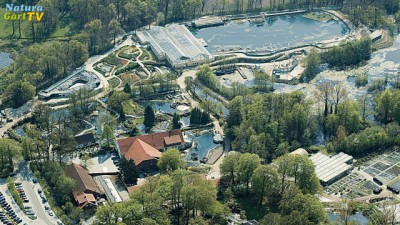 Luftbild des NaturaGart Parks