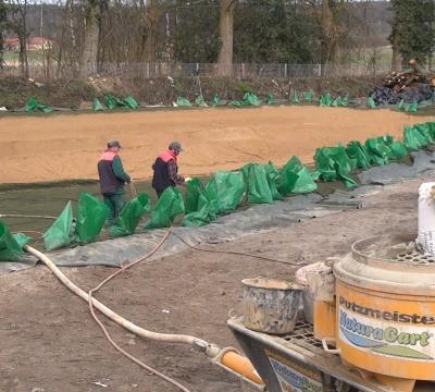 Einsatz von teichbau m rtel for Gartenteich einsatz