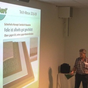 Teichbau videos techniken und infos zum teichbau von for Algen im naturteich