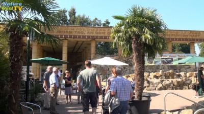 Messebesucher auf dem NaturaGart Gelände