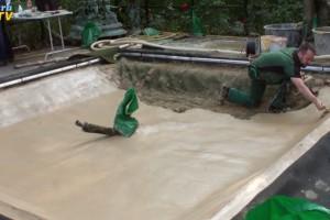 Teichm rtel mit naturagart teiche planen bauen und for Fischteich schutz