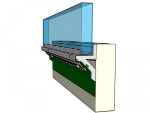 Diagramm des Teichfenster Profils