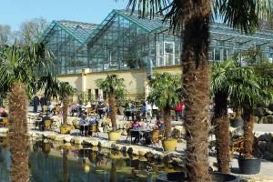 Die Palmenhalle ist ein attraktives Veranstaltungsgelände