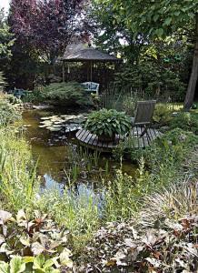 Durch das Selbstbau-Konzept und Unterstützung kann jeder einen Teich bauen.