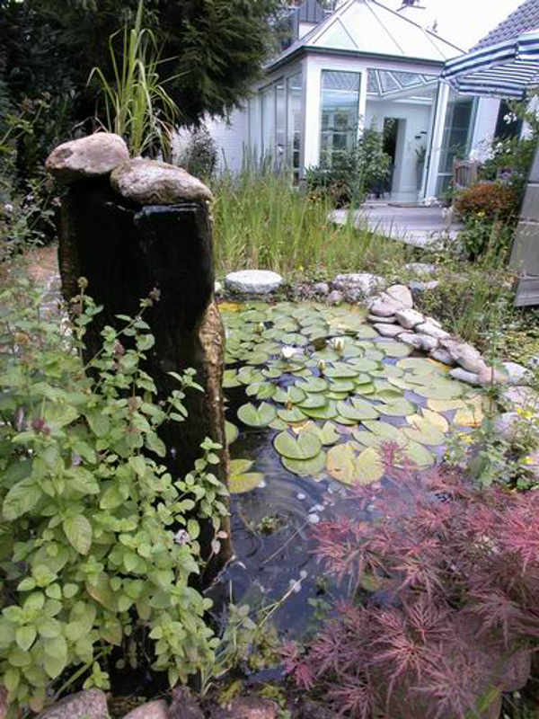 Gartenteich als komplettes set produkte for Gartenteich aquarium