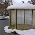 Nicht abräumen: Die Schneedecke schützt vor Frost
