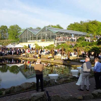Grillfest am Teich im NaturaGart Park