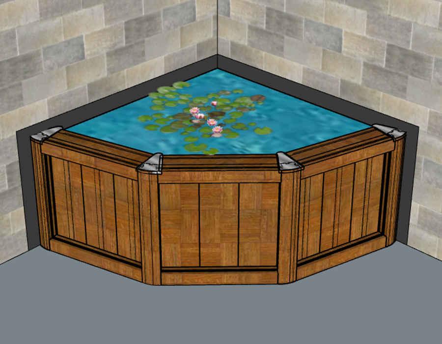 miniteich produkte. Black Bedroom Furniture Sets. Home Design Ideas