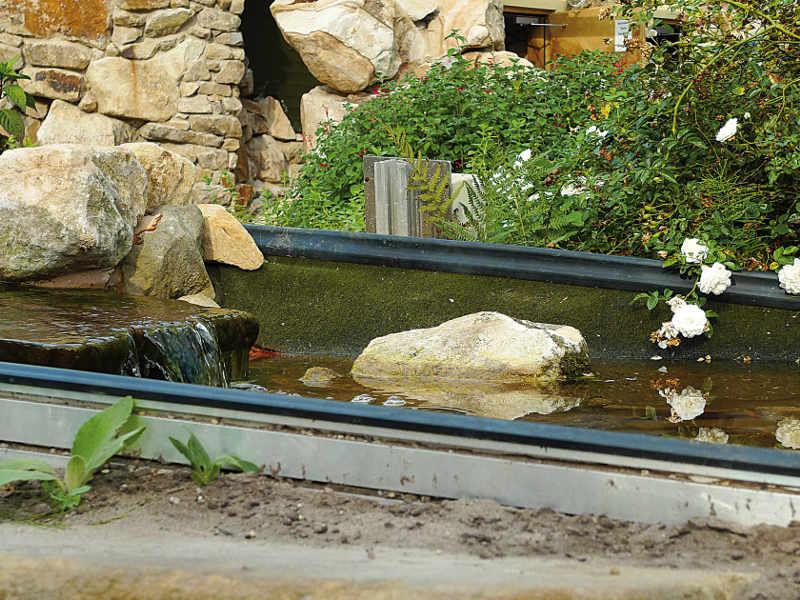 Kapillarsperren bei Folienteichen | Gartenteich Planung, Bau und Pflege