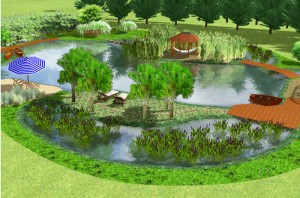 Der Wassergarten-Traum ist mit NaturaGart bezahlbar