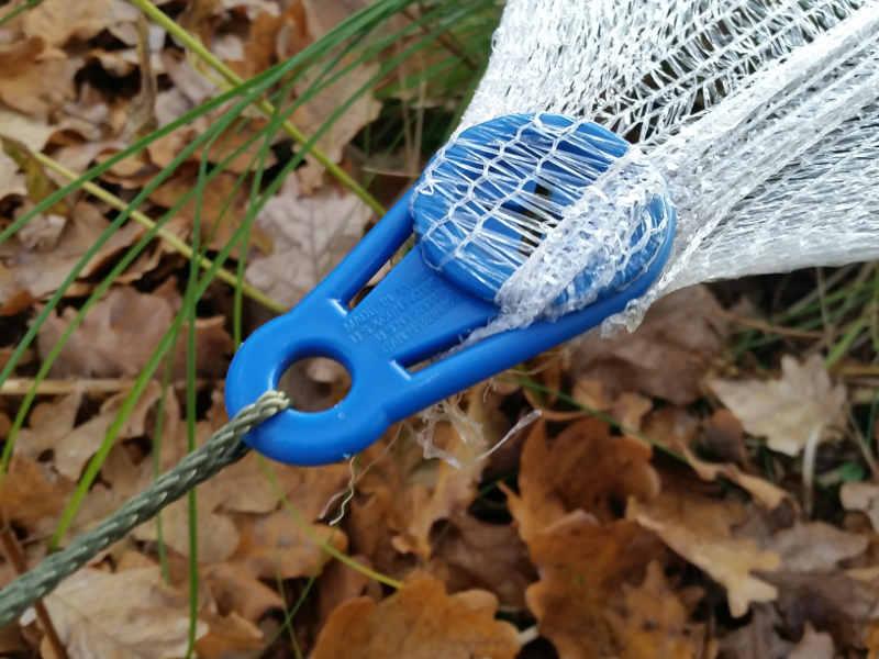 Netz Spannen teich vor laub schützen produkte