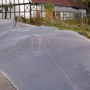 laubschutznetz mit naturagart teiche planen bauen und pflegen. Black Bedroom Furniture Sets. Home Design Ideas