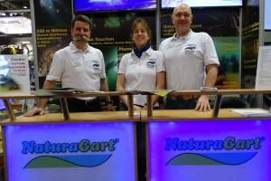 Unser Team auf der Boot 2016: Matthias Mausolf, Dr. Stefanie Krohn und Thomas Christ