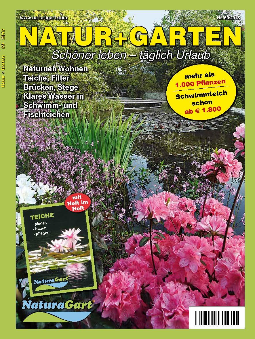 Jetzt Im Versand Der Naturagart Katalog 2015 Gartenteich Planung