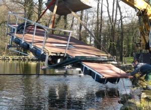 fischteich wasser reinigen start in die tauchsaison 2014 naturagart unterwasserpark