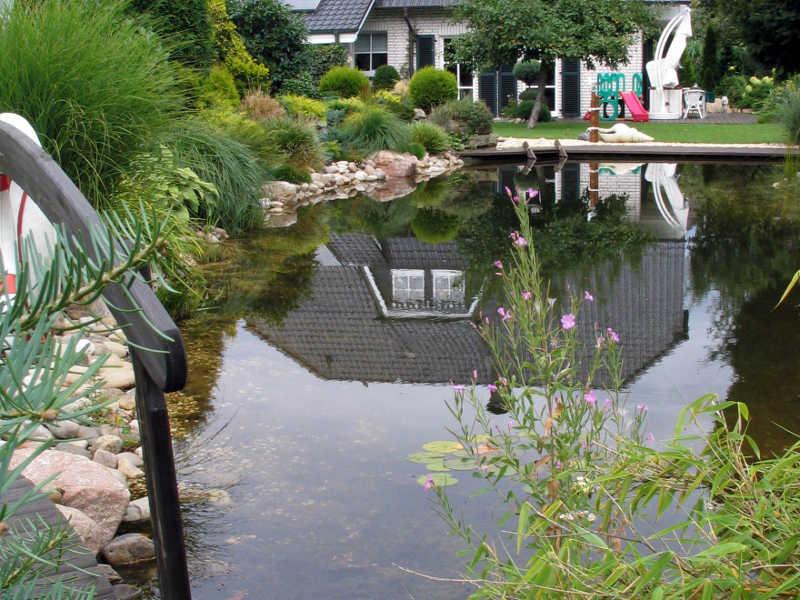 Schwimmteichpumpe im t glichen einsatz produkte for Gartenteich einsatz
