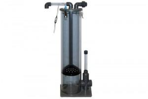 Eiweiß-Abschäumer für klares Wasser: Gelöste Stoffe werden gefiltert