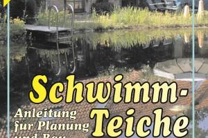 Trennung der Bereiche - Kapitel 3 der Bauanleitung. An diesem Schwimmteich im Park von NaturaGart sieht man deutlich die Trennung zwischen dem Schwimm-Bereich und dem Filtergraben als Regenerationszone.