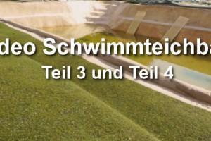 Schwimmteichbau Teil 3 und 4