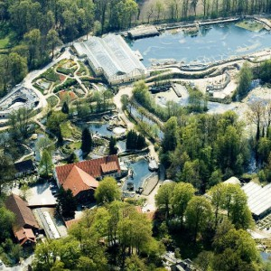 Der NaturaGart-Park ist ein perfektes Gelände für den Teich-Treff.