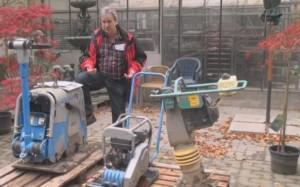 Baumaschinen für Teichbau