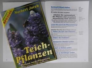 Teichpflanzen planen - NaturaGart Infoheft