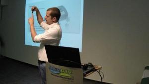 Dr. Holger Kraus ist der zoologische Leiter des Parks. Das Seminar vermittelt Wissen ohne Langeweile.