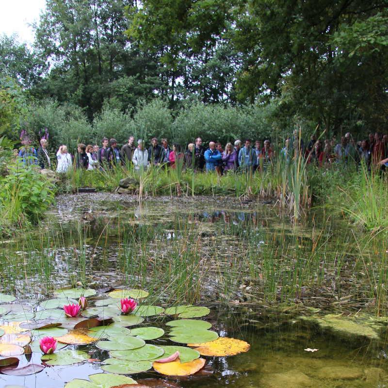 Teich seminar mit naturagart teiche planen bauen und for Teichideen gartenteich