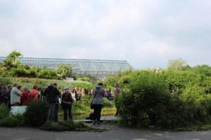 Praxisnahes werden auf der Messe Teichbau und Teichpflege erläutert.