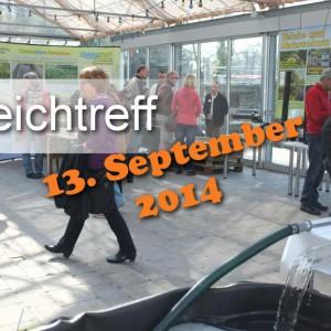 Teich-Treff im Herbst 2014, Thema: Wie kann man seinen Teich sanieren?
