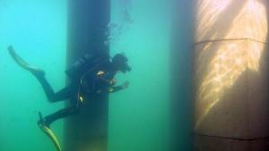 Tempeltauchen im NaturaGart Unterwasserpark