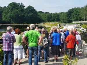 Das Teichpflege-Seminar beschäftigt sich ganz speziell mit der Biologie von Gartenteichen.