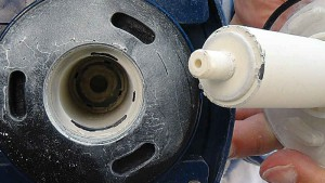 Eine Teichpumpe sollte leicht zu reinigen sein.