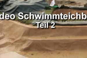 Video Schwimmteich bauen Teil 2
