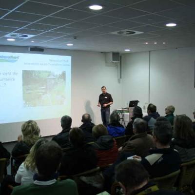 Wasserwerte im Teich - Vortrag Dr. Holger Kraus: wie sieht Ihr Traumteich aus?