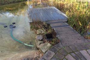 Teichreinigung Mit Naturagart Teiche Planen Bauen Und Pflegen